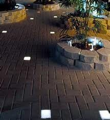 in ground patio lights the in ground lighting on the pathway created by