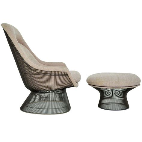 Platner Chair by Warren Platner Lounge Chair At 1stdibs