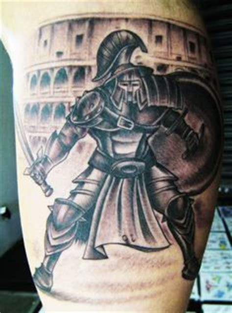 robbie lawler tattoo ufc robbie lawler gladiator black and grey gray