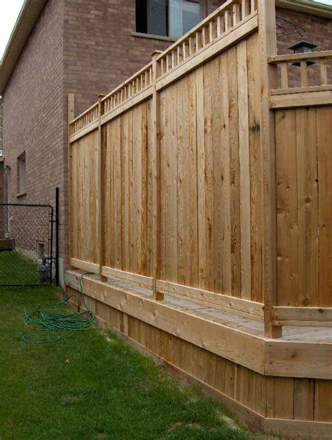 Deck Screen Wall - best 25 privacy deck ideas on privacy wall on