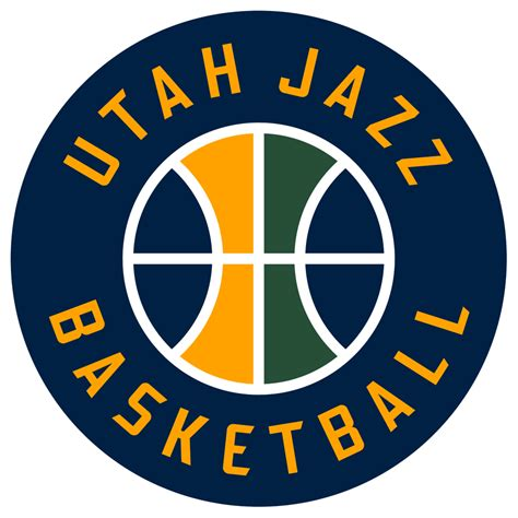 Emblem Jazz All New Utah Jazz 2016 Pres Alternate Logo Iron On Transfer 2