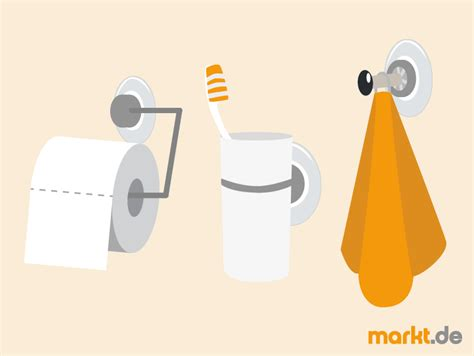 Badezimmer Accessoires Ohne Bohren by Badezimmer Accessoires Ohne Bohren Markt De