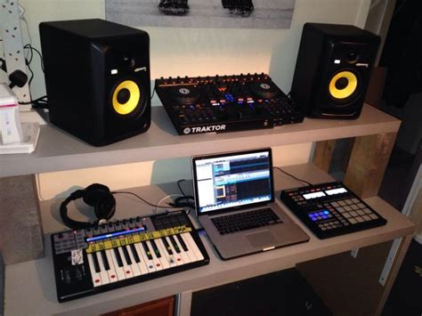 Dj Producer Desk 17 Best Images About Home Studio Ideas On Pinterest Home