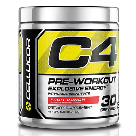 c4 pre workout supplement cellucor