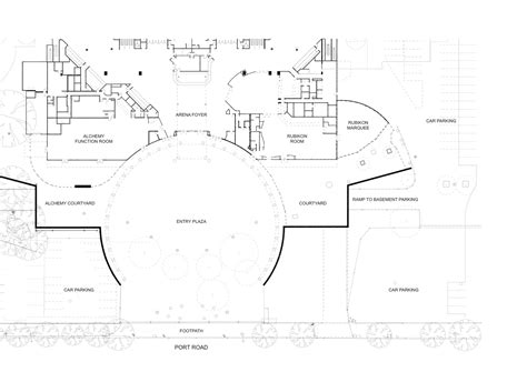 entertainment centre floor plan adelaide entertainment centre designinc archdaily