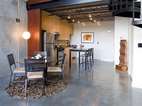 interior design portland or h45 loft industrial kitchen portland by pangaea interior design portland or