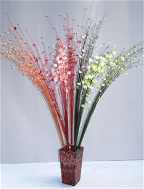 bali flower decoration coconut stick with flower