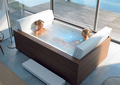 Bathtubs For Two by New Duravit Pool System Pool Tubs With Digsdigs