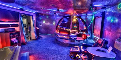 themed party nights hotels 13 space themed hotels suites where you can dock for a night