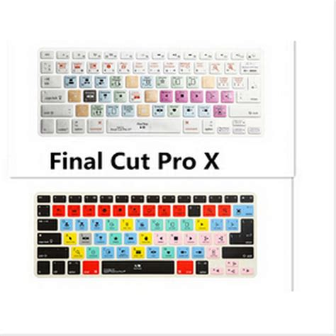 final cut pro cost shortcut keys keyboard screen cover a1278 final cut pro x