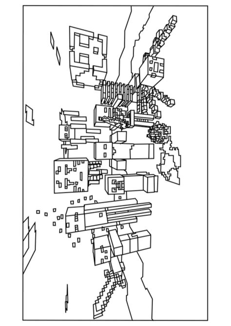 coloring pages for minecraft a minecraft mobs coloring page mindcraft birthday ideas