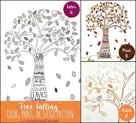 pattern games adults free fall tree pattern u create