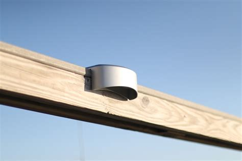 Solar Rail Light View All Lake Lite Solar Marine Solar Railing Lights