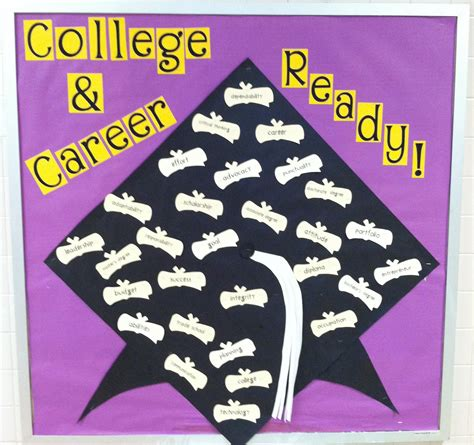 themes for college bulletin boards school counselor blog college and career ready bulletin board