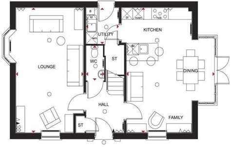 wilson homes floor plans wilson homes floor plans unique 4 bedroom detached house for sale in meynell road quorn new