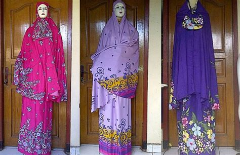 Gamis Katun Lokal Rumahan supplier mukena bali katun jepang rp 97 000