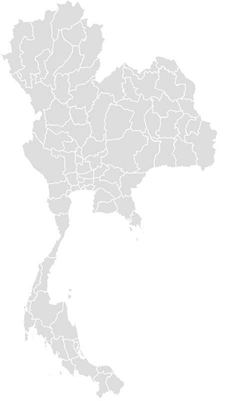 thailand blank map maker printable outline blank map