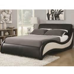 King Size Bed Furniture Eastern King Size Niguel Modern Upholstered Bed Coaster