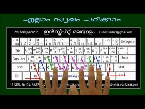 tutorial in keyboard malayalam typing software ism latest version doovi