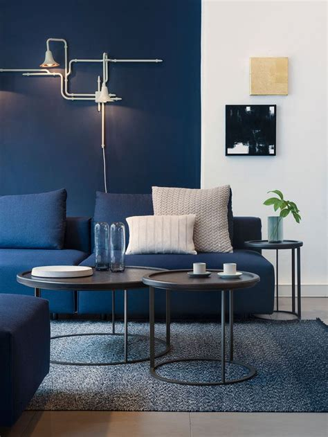 living room suite 4 ways to use navy home decor to create a modern blue