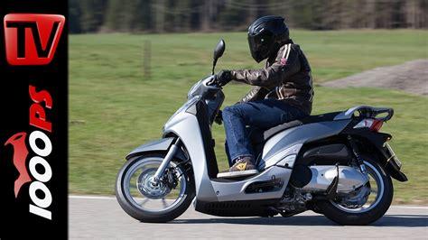 Motorrad Mieten A2 by Video 2015 Honda Sh300i Test A2 48ps Einsteiger