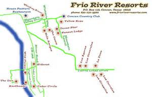 frio river map pictures to pin on pinsdaddy