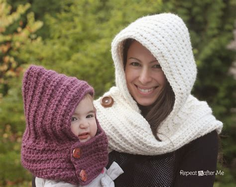 free pattern hooded cowl 20 free crochet scarves and cowls oombawka design crochet