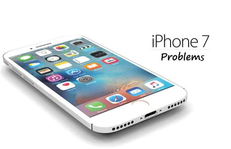 5 iphone 7 problems and solutions price pony