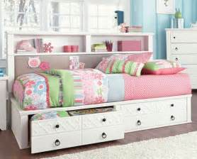 bookcase daybed with storage white size bed with storage iseydona bookcase day