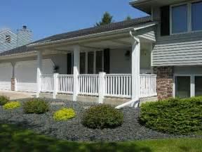 102012 front porch white aluminum columns posts railing flickr photo sharing