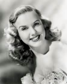 deanna durbin sports the 1930s finger wave style with