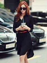 Hem Korean Style korean style asym hem sleeve blouse