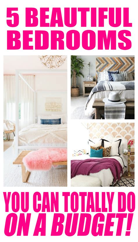 5 tips for decorating on a budget of 50 or less 5 beautiful bedrooms on a budget budget decorating ideas