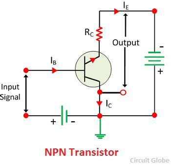 npn transistor in ce configuration what is common collector connection or cc configuration definition current lification