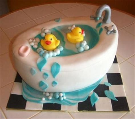baby duck bathtub rubber ducky cake for shower rubber ducky party