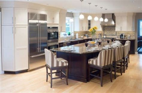 kitchen island seating ideas 18 compact kitchen island with seating for six ideas
