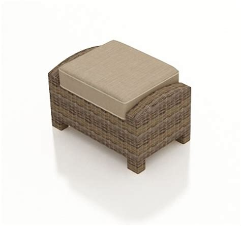 ottoman wicker forever patio cypress wicker rectangular ottoman