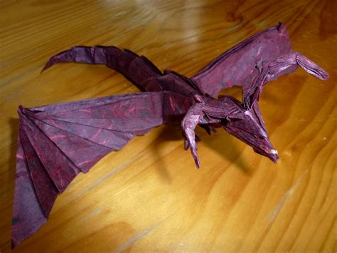Origami Darkness - 454 unryushi darkness 2 setting the crease