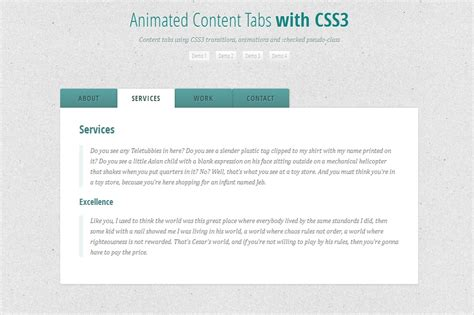 css tutorial tabs 50 useful css3 tutorials to enhance your skills