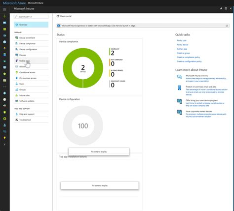 Office 365 Intune Portal New Office 365 Desktop Application Deployment Capabilities