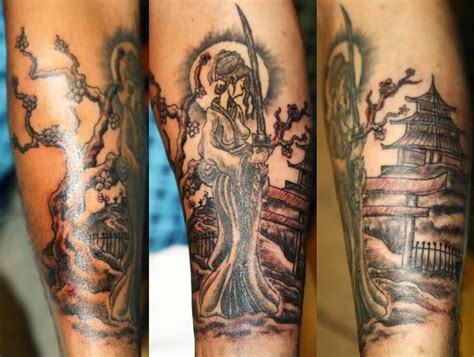samurai tattoo with geisha geisha tattoo ideas and geisha tattoo designs page 6