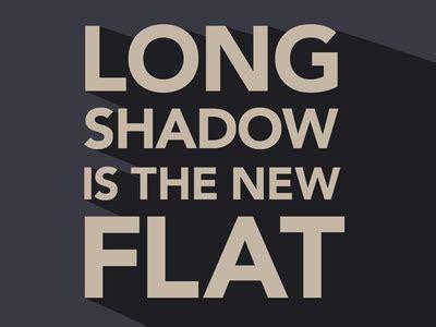 font design flat long shadow in flat design 50 beautiful exles idevie