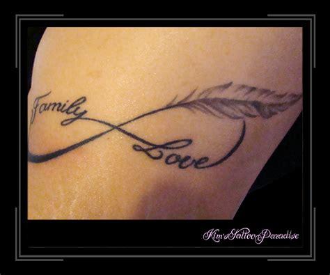 tattoo infinity met veer letter met veer tattoo google zoeken tattoo s