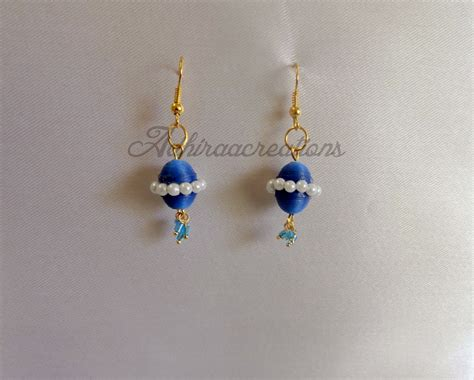 How To Make Paper Jewellery Jhumkas - adhiraacreations some more paper jhumkas