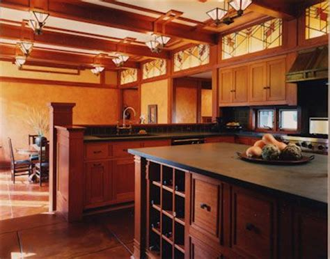 prairie style kitchen cabinets prairie style kitchen design by joseph g metzler with