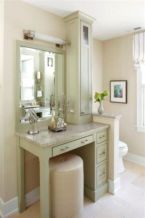 Makeup Vanity For Bathroom Photos Hgtv Small Bathroom Makeup Vanity Small Bathroom Makeup Vanity Bathrooms Pinterest