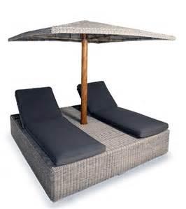 bain de soleil parasol en osier blue azl decostock