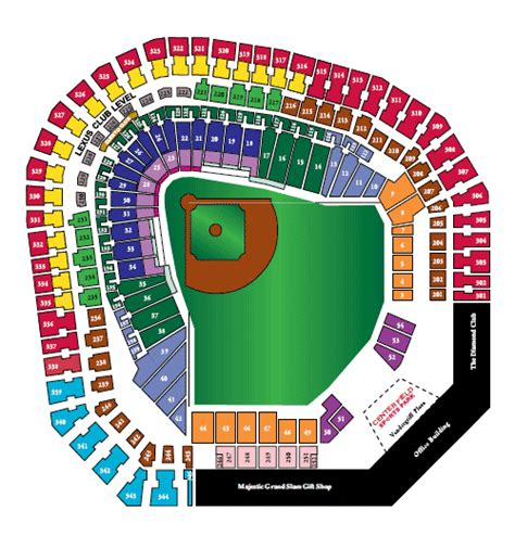 texas rangers stadium map rangers seating chart view from seat texas rangers seating chart nhl hockey arenas