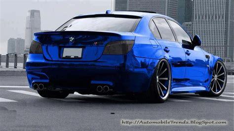 Bmw M5 Blue by Automobile Trendz Bmw M5 Chrome Blue