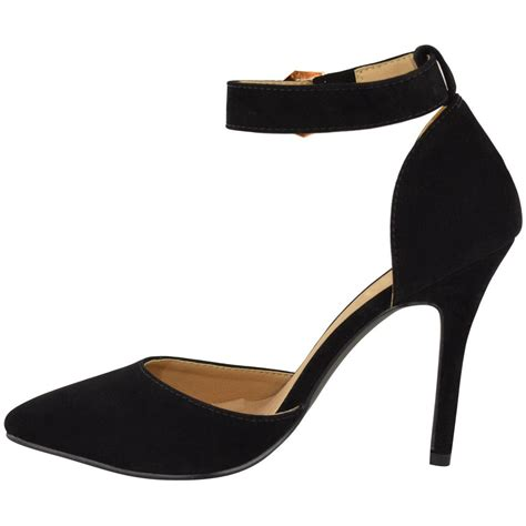 pointed high heels with ankle straps womens high heel pointed toe stiletto sandals ankle